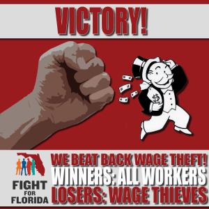 FFF wage theft victory MEME