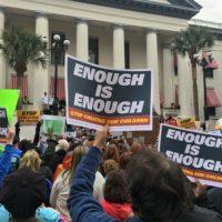 January Teachers Rally