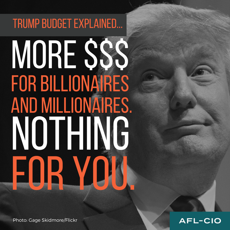 Irs Response To Trump Nothing Prevents Taxpayers From: Trump's Budget: A Wish List For The Wealthy, A Nightmare